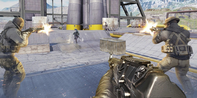 Game FPS Android ram 2gb - Call of Duty Mobile