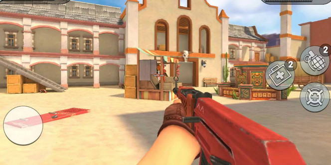 Game FPS Android ram 2gb - Guns of Boom