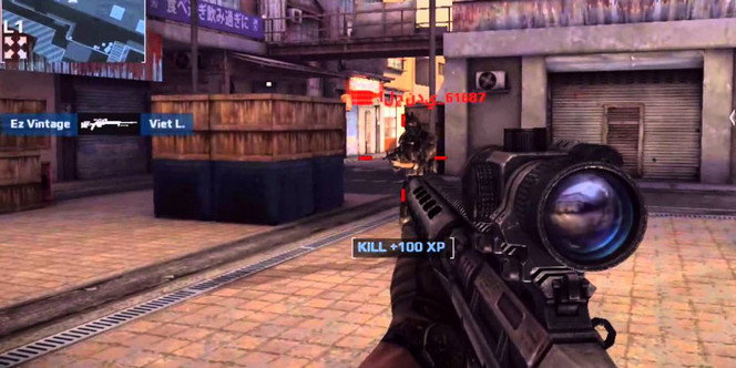 Game FPS Android ram 2gb - Modern Combat 5 Black Out