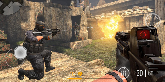Game FPS Android ram 2gb - Modern Strike Online