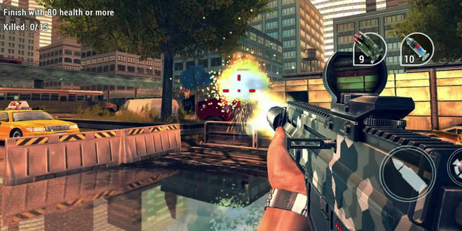 Game FPS Android ram 2gb - Unkilled